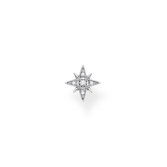 Stiftörhängen individuellt stjärna silver ur kollektionen Charming Collection i THOMAS SABO:s onlineshop