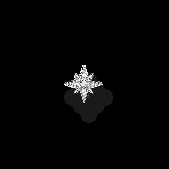Clou d'oreille unique étoile argent de la collection Charming Collection dans la boutique en ligne de THOMAS SABO