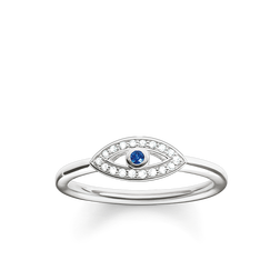 "anello ""occhio di Allah blu"" from the Glam & Soul collection in the THOMAS SABO online store"