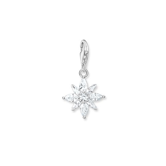 Charm pendant flower from the  collection in the THOMAS SABO online store