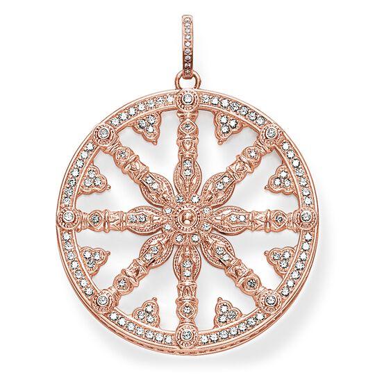 """pendentif """"Karma Wheel avec diamants"""" de la collection Glam & Soul dans la boutique en ligne de THOMAS SABO"""