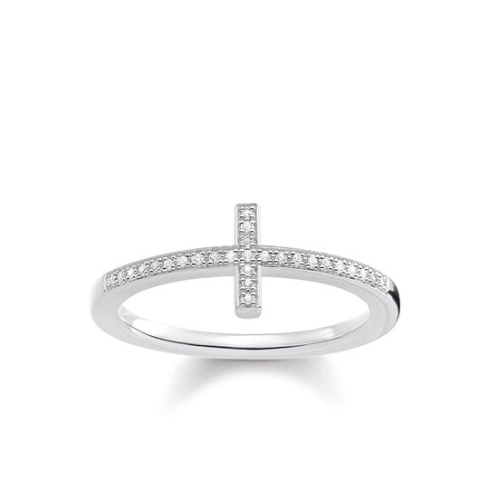 """ring """"cross"""" from the Glam & Soul collection in the THOMAS SABO online store"""