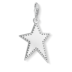 """Charm pendant """"Silver star"""" from the  collection in the THOMAS SABO online store"""