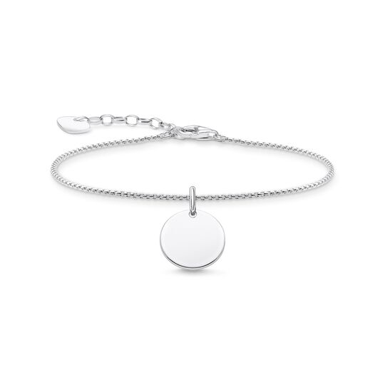 Bracelet with disc silver from the  collection in the THOMAS SABO online store