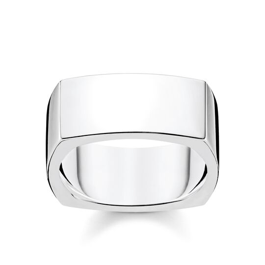 ring Square silver from the Rebel at heart collection in the THOMAS SABO online store