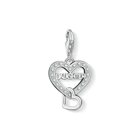 Charm pendant DAUGHTER from the Charm Club collection in the THOMAS SABO online store