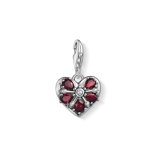 Charm pendant Vintage heart from the Charm Club collection in the THOMAS SABO online store