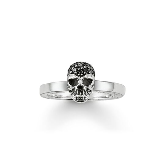 ring skull pavé from the  collection in the THOMAS SABO online store