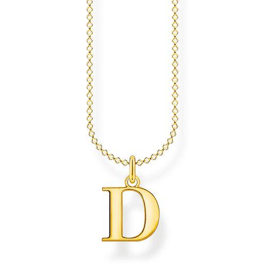 Kette Buchstabe D gold aus der Charming Collection Kollektion im Online Shop von THOMAS SABO