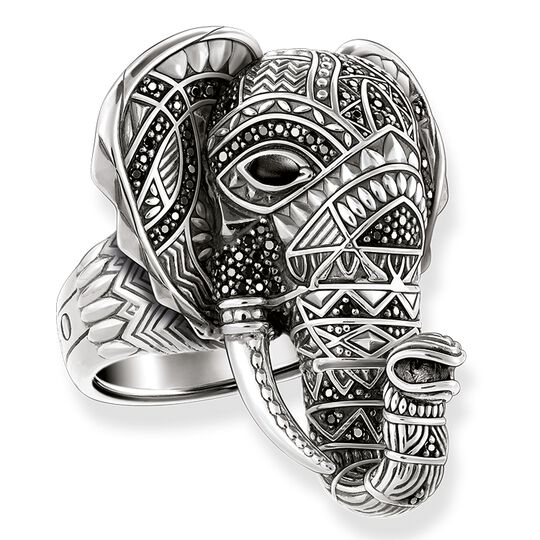 """ring """"elephant"""" from the Glam & Soul collection in the THOMAS SABO online store"""