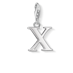 Charm pendant letter X from the Charm Club Collection collection in the THOMAS SABO online store