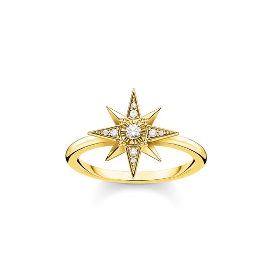Ring star gold from the  collection in the THOMAS SABO online store