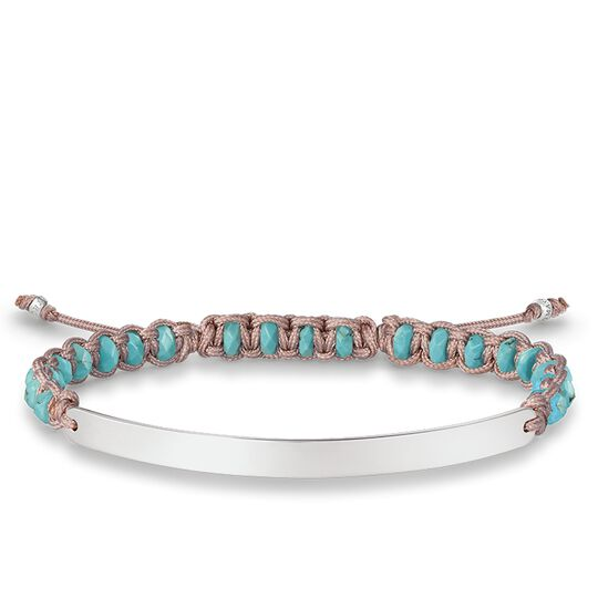 bracelet blue from the Love Bridge collection in the THOMAS SABO online store