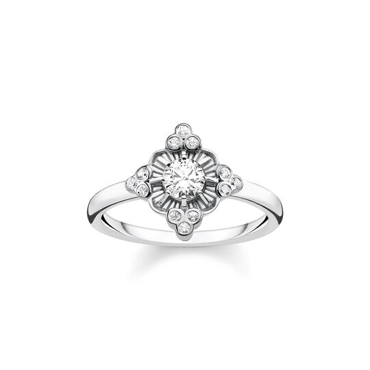 ring Royalty white from the  collection in the THOMAS SABO online store