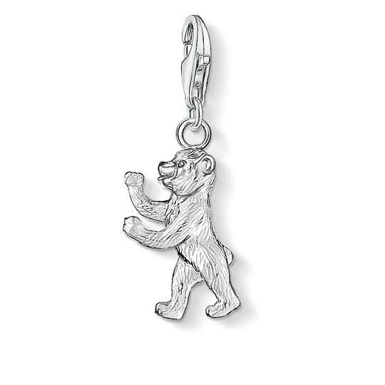 Charm pendant Berlin bear from the  collection in the THOMAS SABO online store
