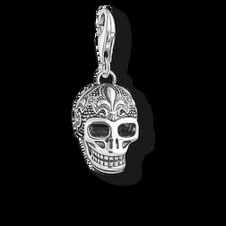 """colgante Charm """"calavera con flor de lis"""" de la colección  en la tienda online de THOMAS SABO"""