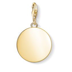 Charm pendant disc from the  collection in the THOMAS SABO online store