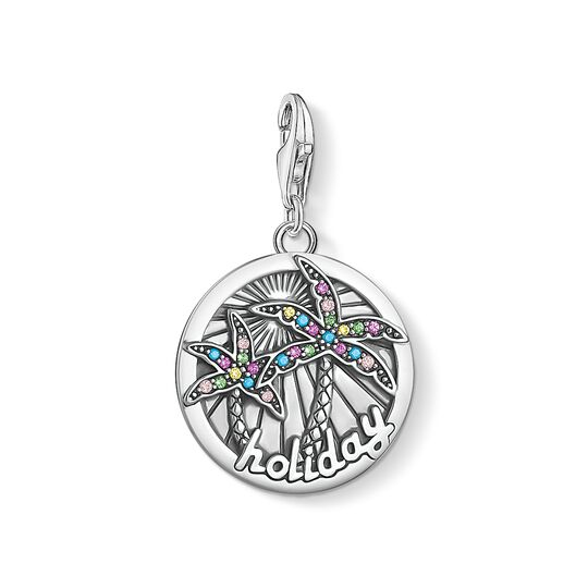 Charm pendant disc tropical from the Charm Club collection in the THOMAS SABO online store