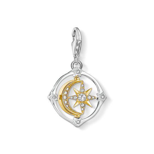 pendentif Charm Lune et étoile mobiles de la collection Charm Club dans la boutique en ligne de THOMAS SABO