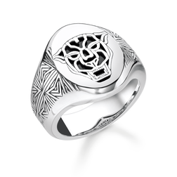 ring Black Cat from the Rebel at heart collection in the THOMAS SABO online store