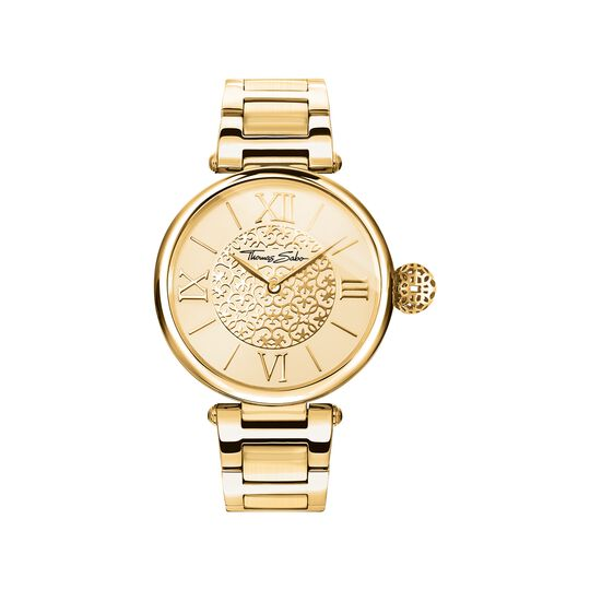 montre pour femme Golden Ornaments de la collection Karma Beads dans la boutique en ligne de THOMAS SABO