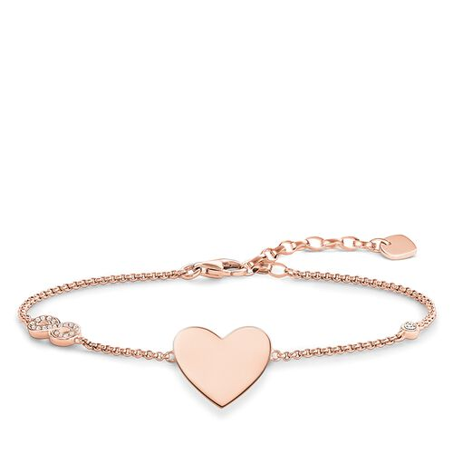 """bracelet """"heart with infinity"""" from the Glam & Soul collection in the THOMAS SABO online store"""