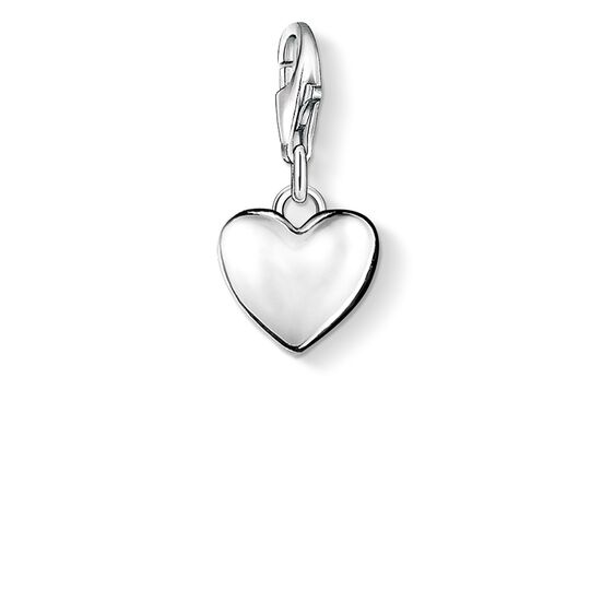 Charm pendant heart from the Charm Club collection in the THOMAS SABO online store