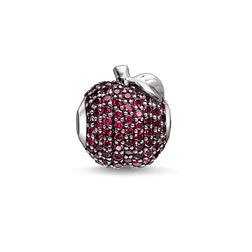 Bead red apple from the Karma Beads collection in the THOMAS SABO online store