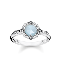 "ring ""Vintage light blue"" from the Glam & Soul collection in the THOMAS SABO online store"