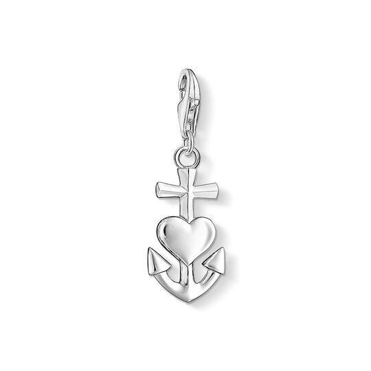 Charm-Anhänger Kreuz, Herz, Anker aus der Charm Club Kollektion im Online Shop von THOMAS SABO