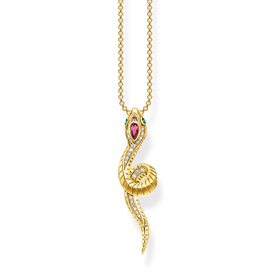 Necklace snake gold from the Glam & Soul collection in the THOMAS SABO online store
