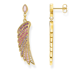 boucles d'oreilles aile de colibri multicolore or de la collection Glam & Soul dans la boutique en ligne de THOMAS SABO