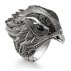 "ring ""falcon"" from the Rebel at heart collection in the THOMAS SABO online store"