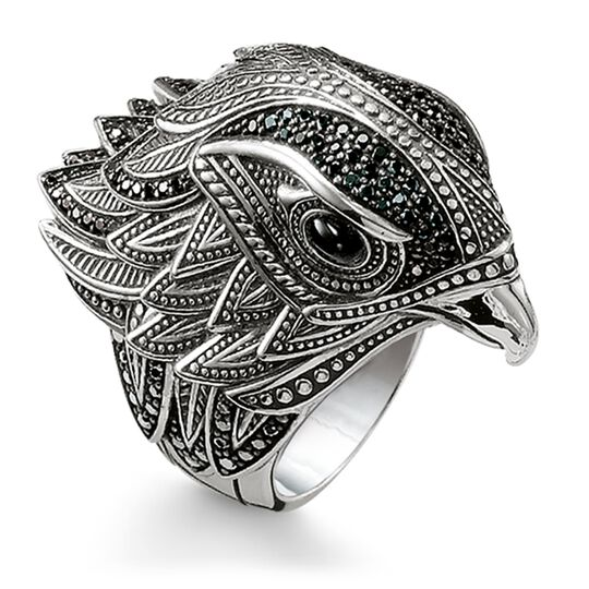 Ring Falke aus der Rebel at heart Kollektion im Online Shop von THOMAS SABO