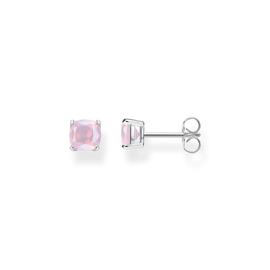 Ear studs Opal-Imitation shimmering pink from the Glam & Soul collection in the THOMAS SABO online store
