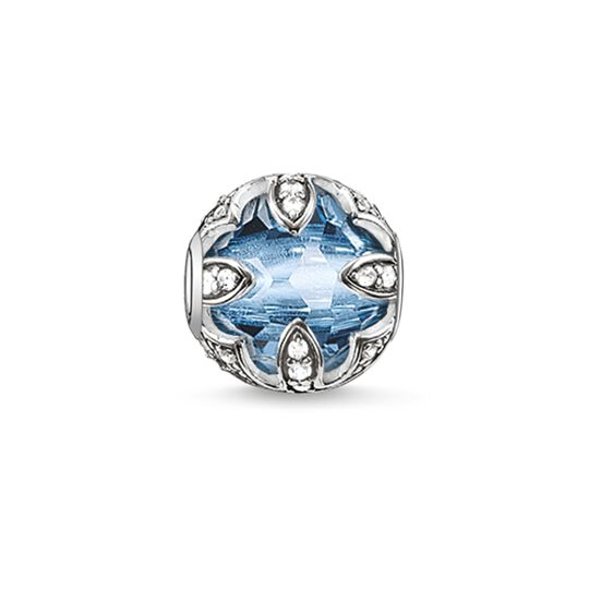Bead light-blue lotus from the Karma Beads collection in the THOMAS SABO online store