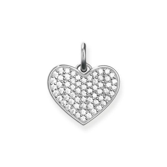 """colgante """"corazón de pavé"""" de la colección Love Bridge en la tienda online de THOMAS SABO"""