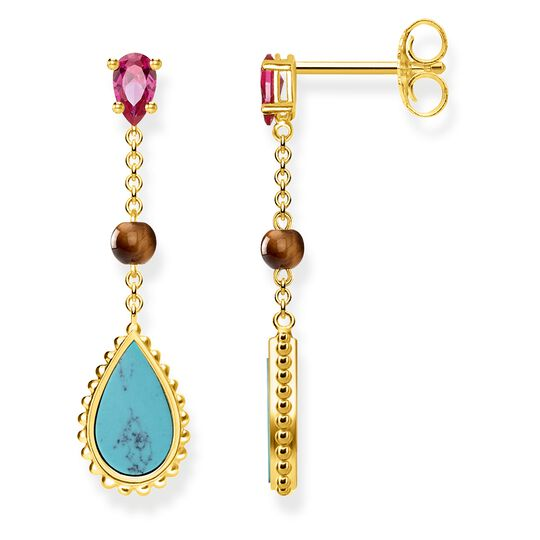 "earrings ""Riviera Colours"" from the Glam & Soul collection in the THOMAS SABO online store"