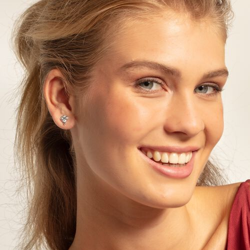 """ear studs """"Royalty white"""" from the Glam & Soul collection in the THOMAS SABO online store"""