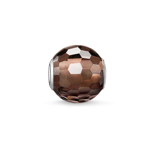 Bead smoky quartz from the Karma Beads collection in the THOMAS SABO online store