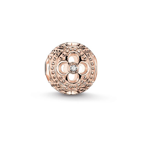 "Bead ""diamond flower"" from the Karma Beads collection in the THOMAS SABO online store"
