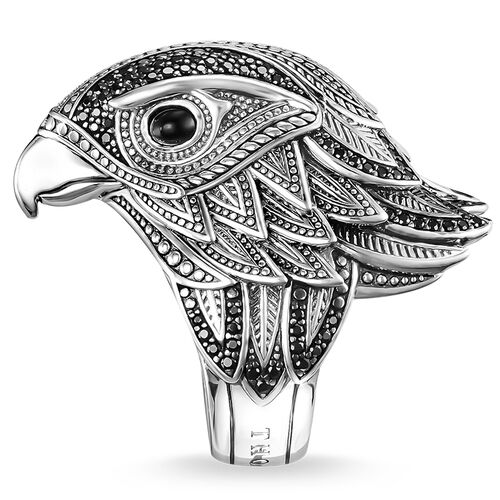 """ring """"falcon"""" from the Rebel at heart collection in the THOMAS SABO online store"""