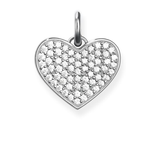 pendant heart pavé from the Love Bridge collection in the THOMAS SABO online store