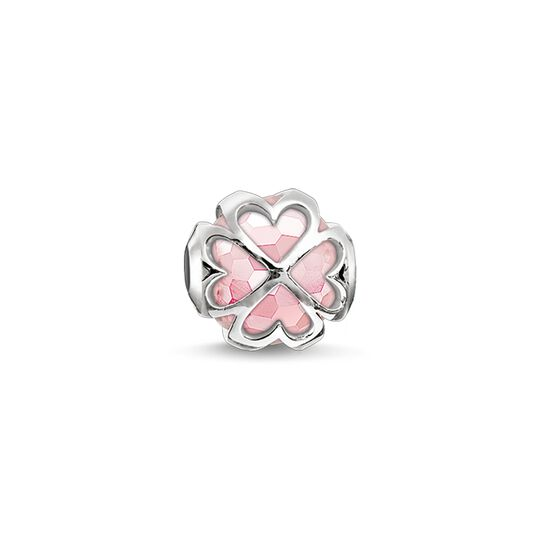 Bead pink cloverleaf from the Karma Beads collection in the THOMAS SABO online store