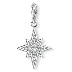 "Charm pendant ""glitter star"" from the Charm Club Collection collection in the THOMAS SABO online store"