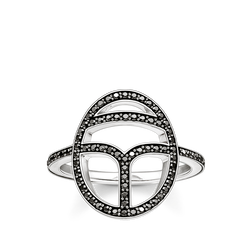 "ring ""black scarab"" from the Glam & Soul collection in the THOMAS SABO online store"