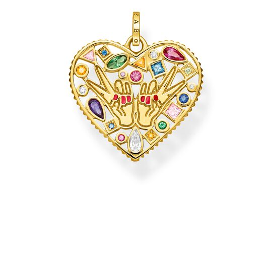 """pendant """"love & peace"""" from the Glam & Soul collection in the THOMAS SABO online store"""
