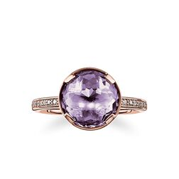 """solitaire ring """"third-eye chakra"""" from the Chakras collection in the THOMAS SABO online store"""