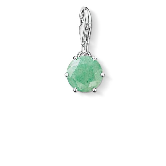 "Charm pendant ""birth stone May"" from the  collection in the THOMAS SABO online store"