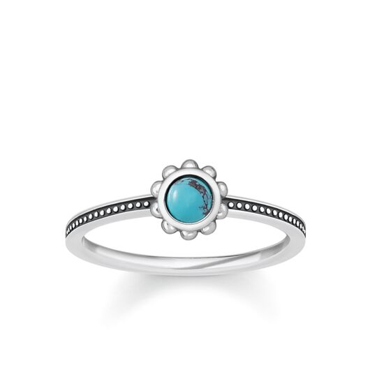 ring ethno turquoise from the Glam & Soul collection in the THOMAS SABO online store